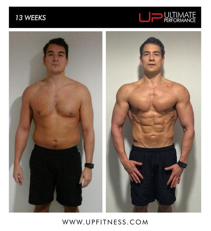 13 Weeks Fat loss - Muscle Gain Dave MCR UP