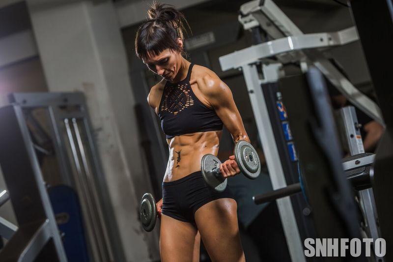 Emma Watts 12-week vegan diet body transformation