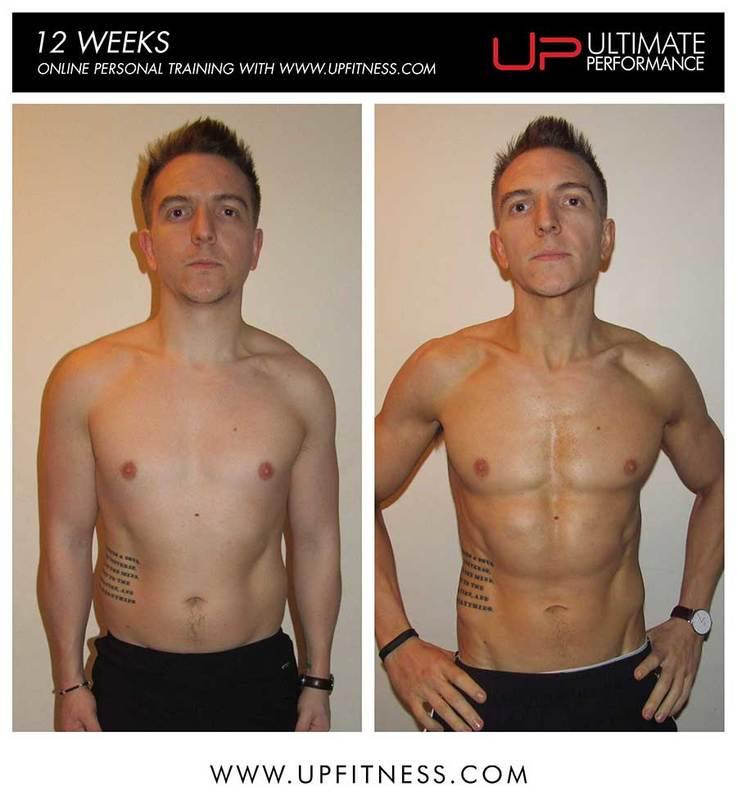 Shane's 12-week transformation