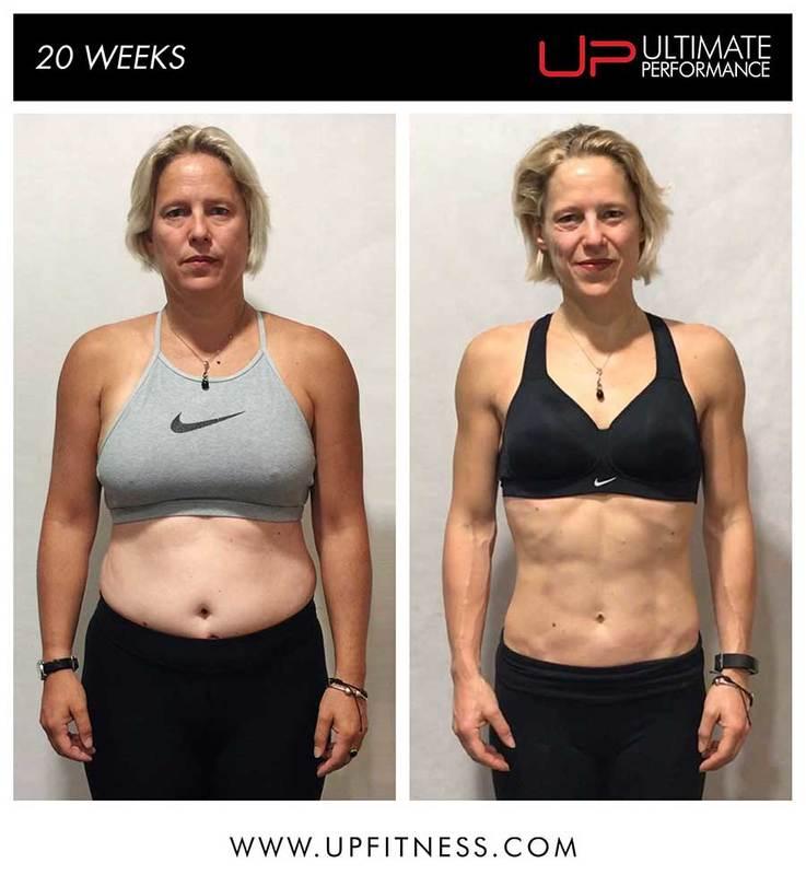 Vicky 20-week transformation