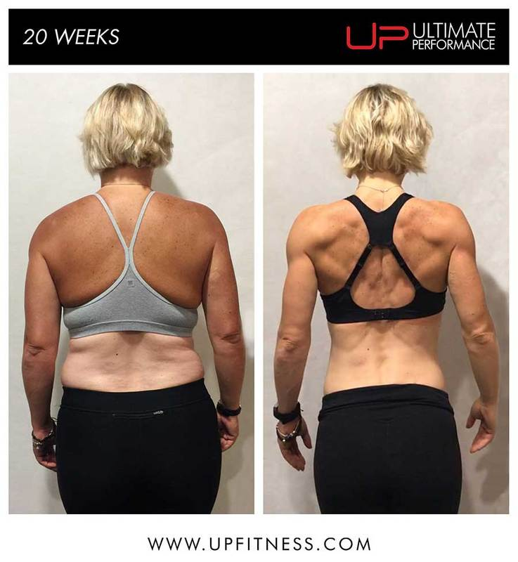Vicky 20-week transformation