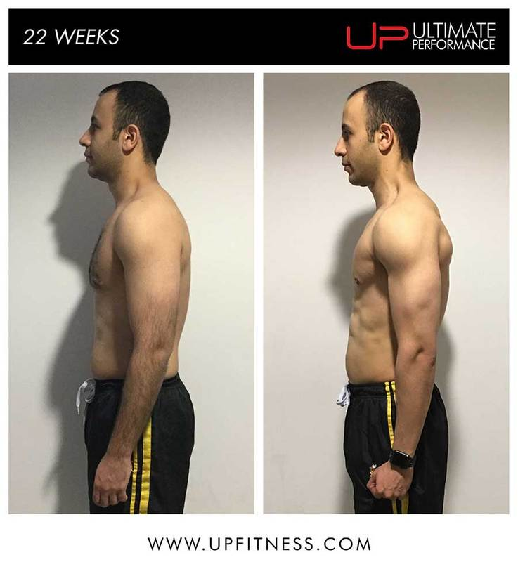 Lourence body transformation Ultimate Performance fat loss