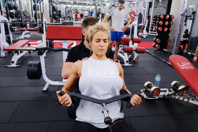 Gemma Atkinson Ultimate performance training