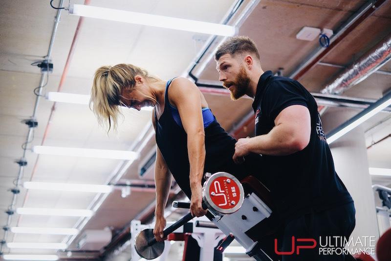 Gemma Atkinson ultimate performance training