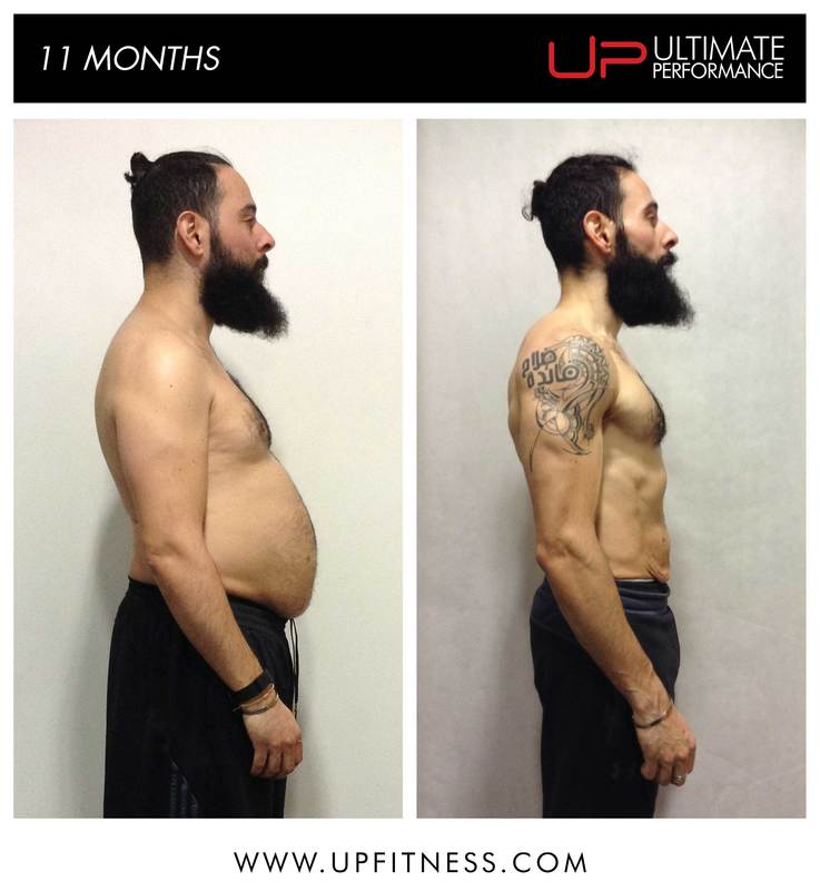Ultimate Performance body transformation weight loss