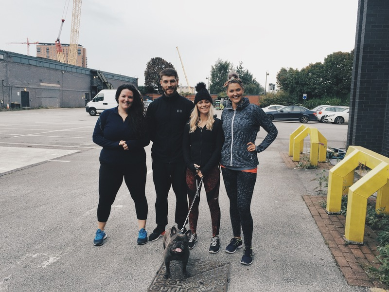 Sam's Fitness Journey - Sam and UP Clients