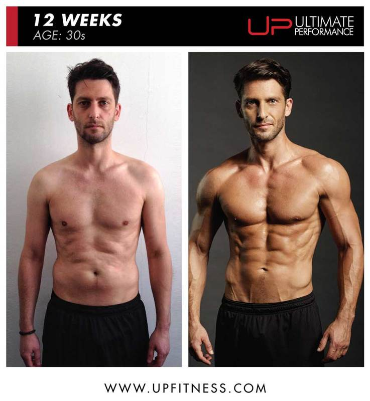 Joe Warner 12 week amazing fat loss with UP