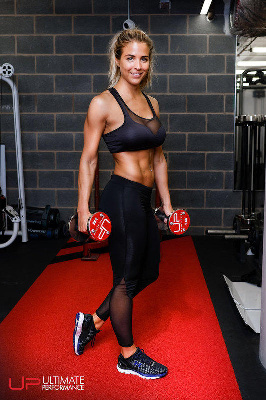 Gemma Atkinson after her body transformation with Ultimate Performance