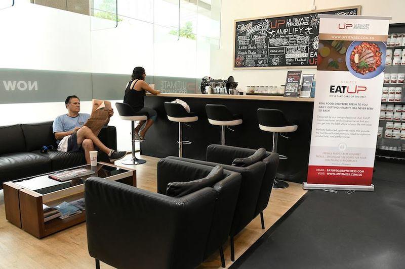 Ultimate Performance Singapore Gym - Lobby