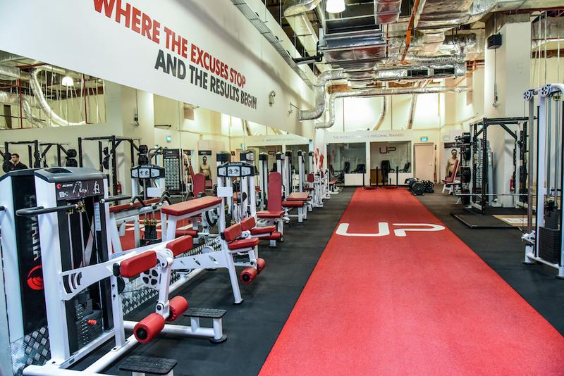 Ultimate Performance Singapore Gym Interior