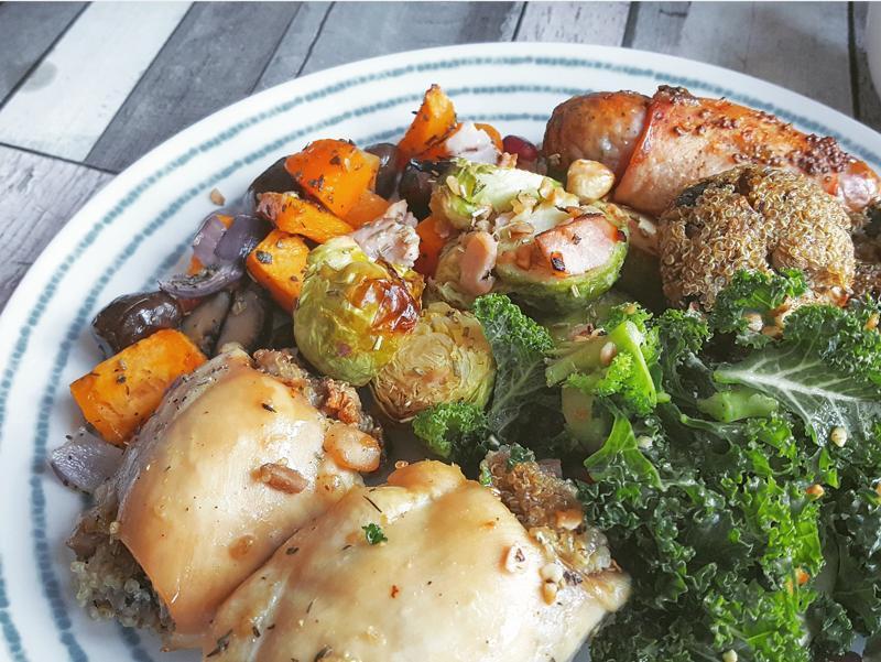 Healthy chicken thighs recipe