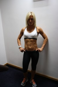 female personal trainer - UP