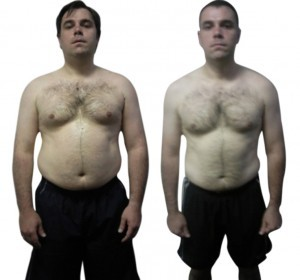 male fat loss results - UP