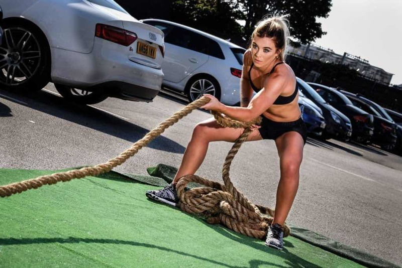 sam outdoor rope training - UP