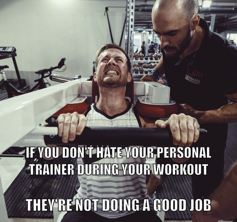 Ultimate Performance personal trainers