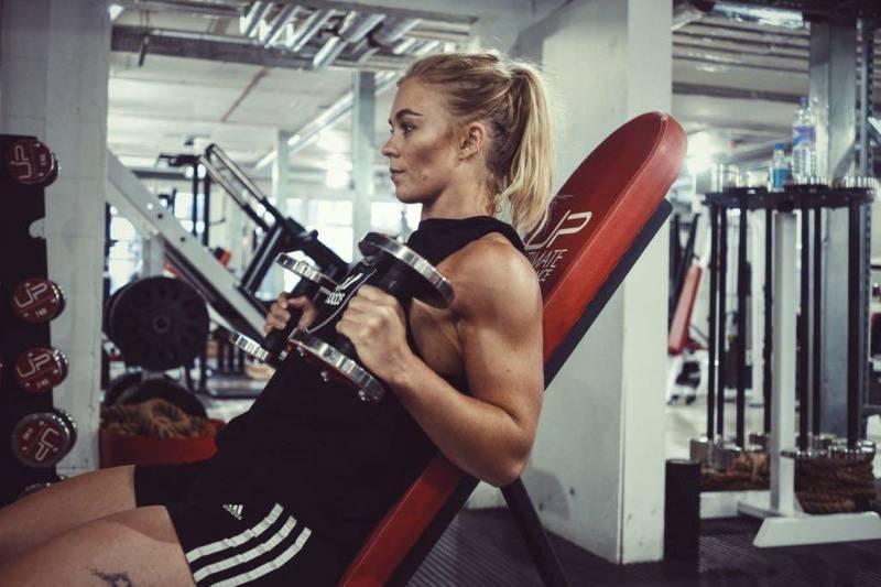 UP Fitness Sam Training