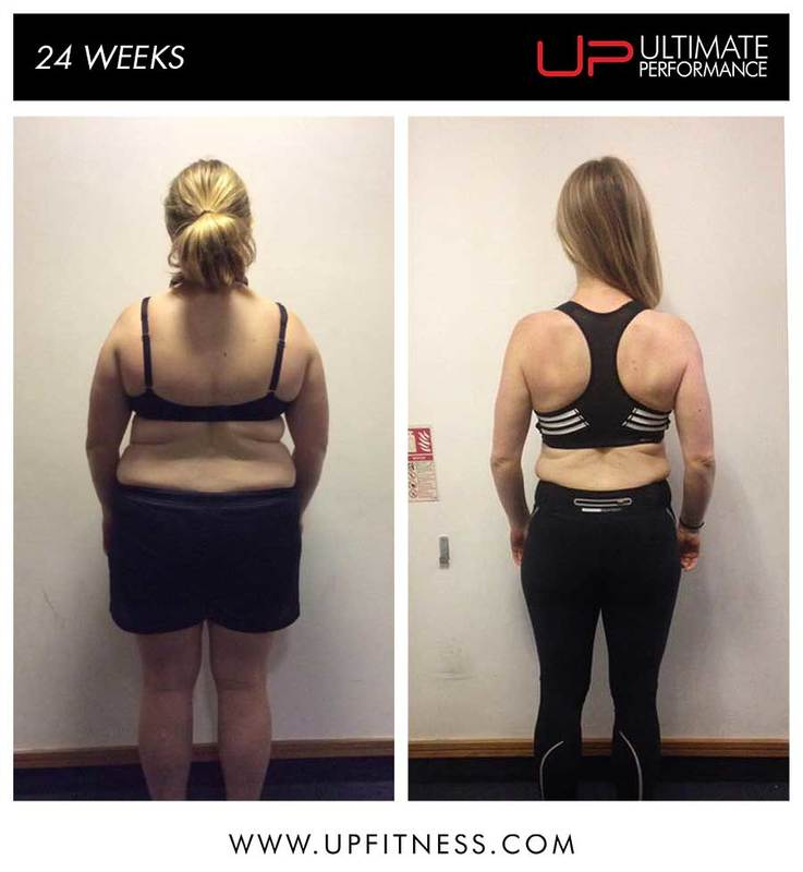 23kg lost in a 24 week transformation