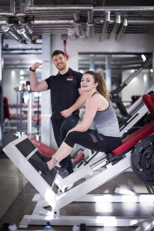 jenny and her trainer