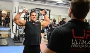 Shoulder training scott press - UP