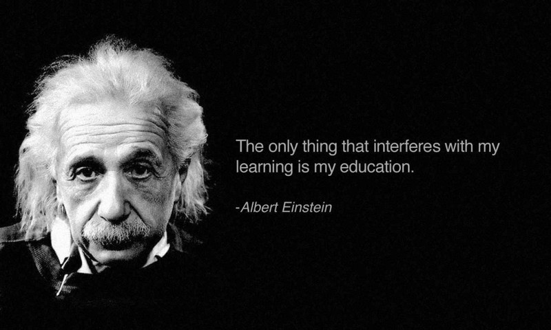 Albert Einstein quote - UP