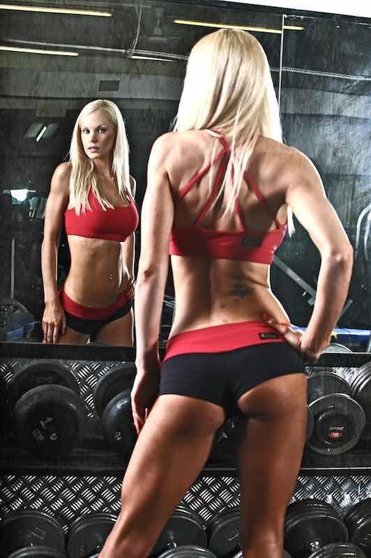Muscular female