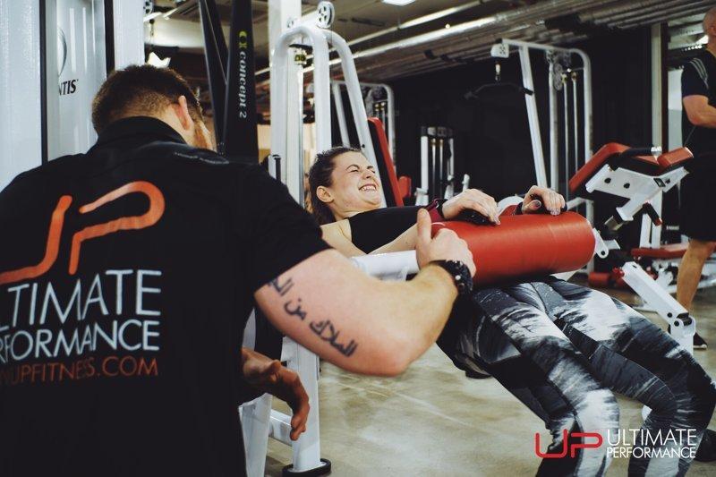 jenny training - UP