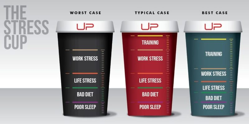 Stress cup