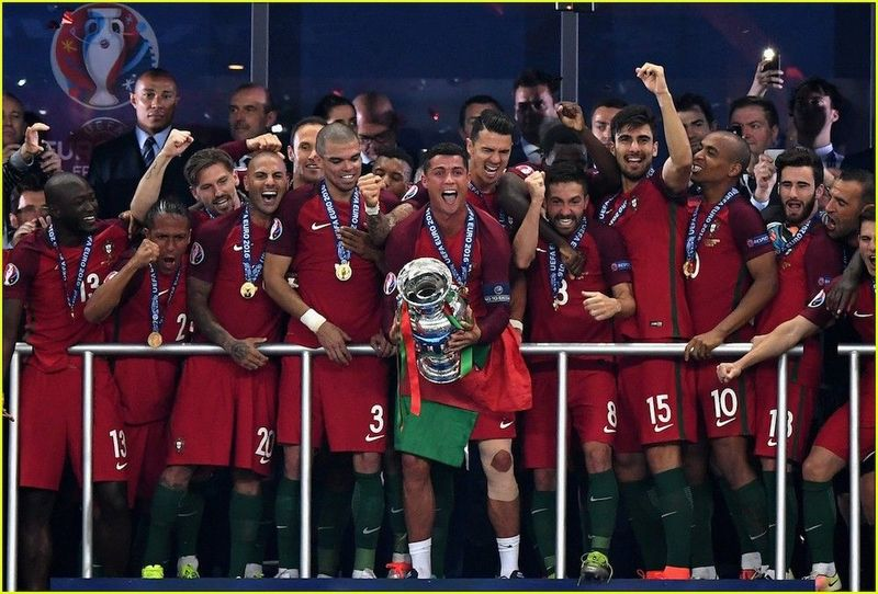 portugal winning euro 2016