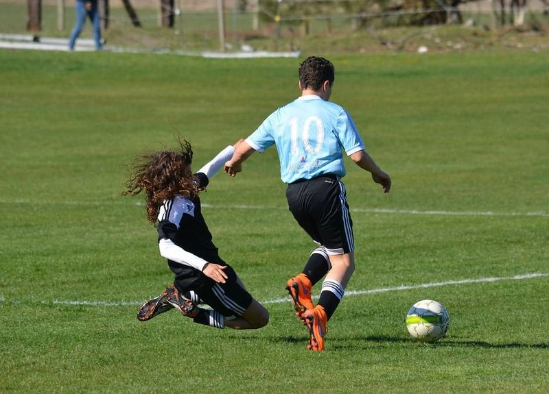 rough tackle in football