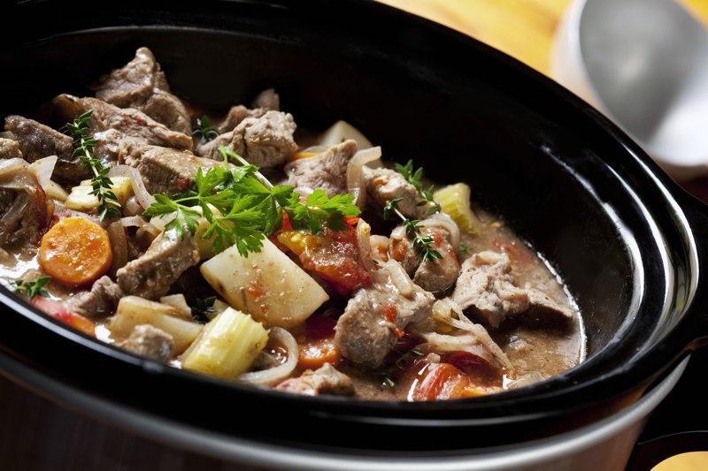 Beef stew slow cooker