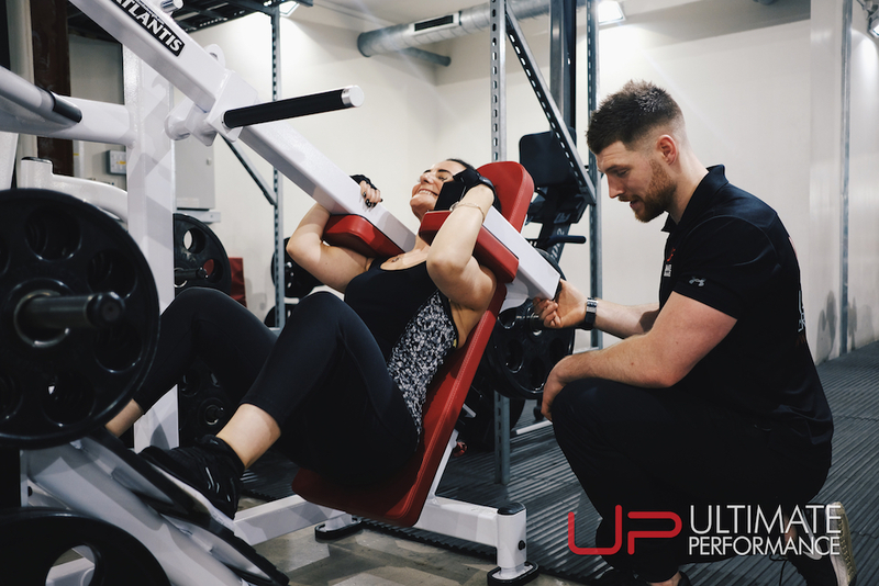 Training with a personal trainer at UP