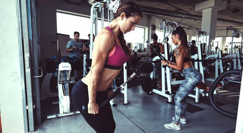 training weights women