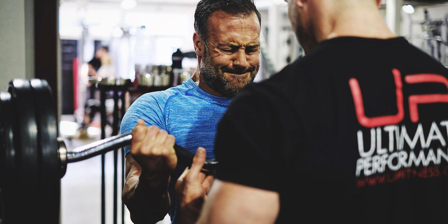 Arm day hypertrophy camp at ultimate performance mayfair