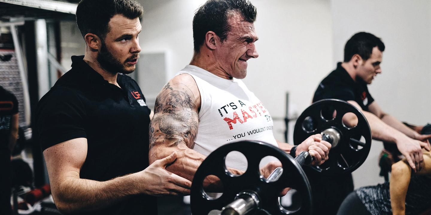 Arm hypertrophy day at ultimate performance manchester