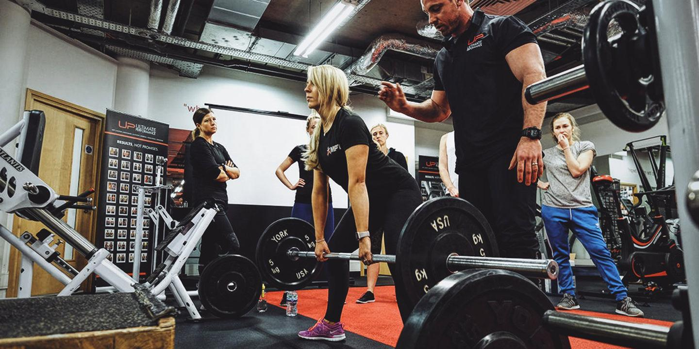 How to train a female day at ultimate performance mayfair