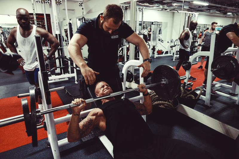 Ultimate upper body training camp at ultimate performance mayfair