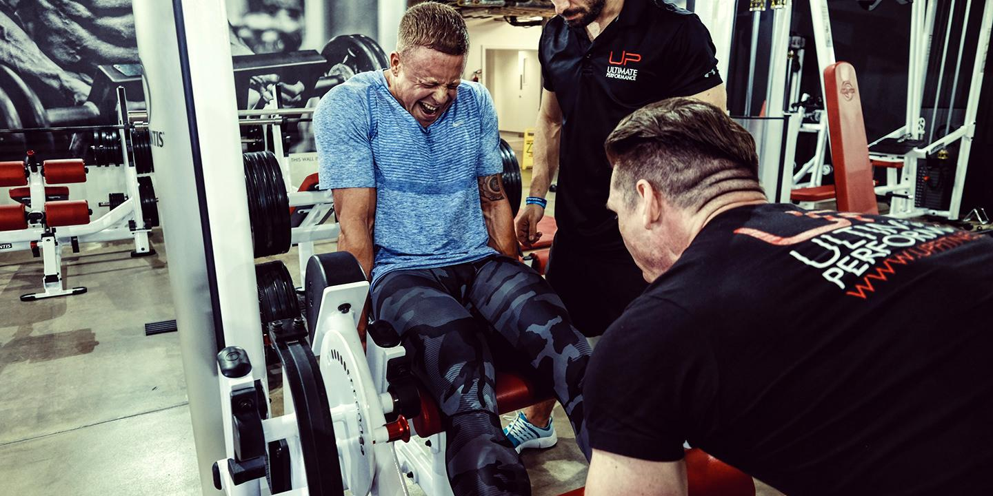 Leg day hypertrophy camp at ultimate performance mayfair
