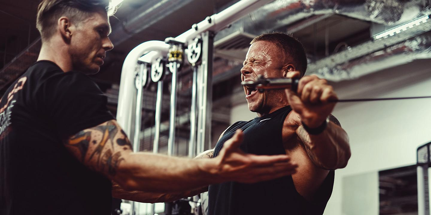 Torso day at ultimate performance mayfair