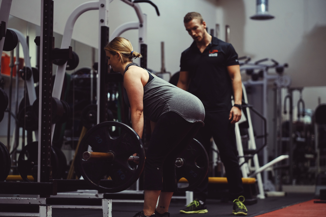 Client and trainer at UP